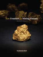 New Frontiers in Mining Finance