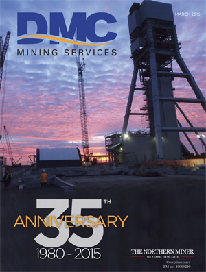 DMC Mining Services: 35th Anniversary issue