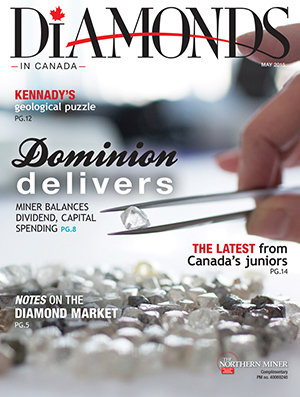 Diamonds in Canada May 2015